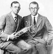 Max Knoll and Ernst Ruska