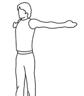 Stretch you shoulders, arms and chest with this great stretch!