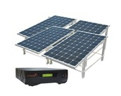 1 KW solar power plant - off grid & on grid