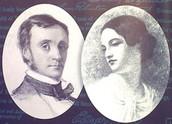 Edgar Allan Poe and Virginia Clemm
