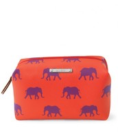 Pouf in Elephant Print