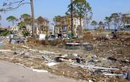 Damage of hurricane Ivan