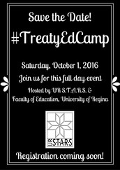 Coming Soon - #TreatyEdCamp 2016