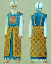 בגדי כהונה מתחלקים ל-2: בגדי לבן ובגדי זהב