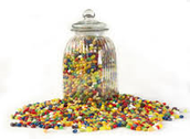 guess how many jelly beans in a jar