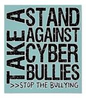 Take a stand again cyber bullies