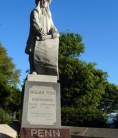 Statue of William Penn.