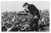 What was the last song Elvis Presley sang before death?