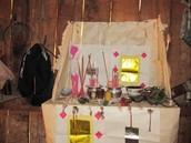 Hmong Shaman Altar