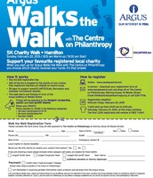 Argus Walks the Walk