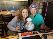 Mya McPherson & Jenna Ballman Show Off the Fun Decorations!