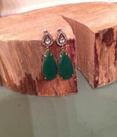 SOLD - Liz Drop Earrings