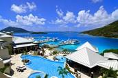 virgin island has beautiful resorts