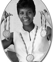 She also won many metals.