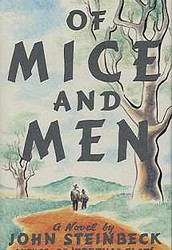 Of Mice And Men first edition cover