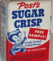 Sugar Crisp in the 1890's