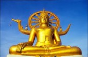 בודהה באי קוסמוי שבתאילנד