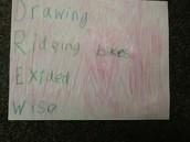 Drew - 1st grade
