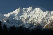 Nanga Parbat is the 9th tallest mountain in the world!