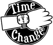 DINNER TIME CHANGE