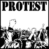 Help us  protest.