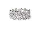 Stackable Deco Rings - Set of 3 - Size 7