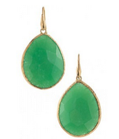 SOLD Serenity Stone Drops Green $25