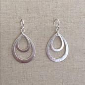 Lakin teardrop earrings $15