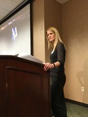 Sylvia McBride represents SUHSD at SD County Conference