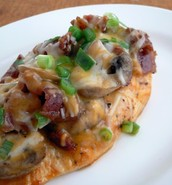 Bacon and Mushroom Chicken
