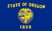 Oregon's state flag