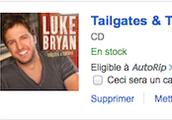 Luke Bryan CD