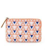 Capri Pouch - Mosaic Triangle $15