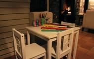 Kindermenu & speelhoek