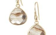 Serenity Small Stone Drops - Gold