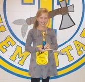 Anna Casey, Ganadora del Concurso de Deletreo