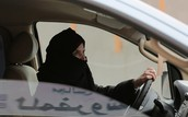 Saudi Arabian Woman Defies Ban on Driving