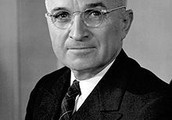 Presidents Harry Truman and Dwight D. Eisenhower