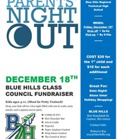 Parents' Nigh t Out --December 18 from 5:00 PM - 9:30 PM