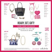 READY, SET, GIFT! DECEMBER TRUNK SHOW EXCLUSIVES!