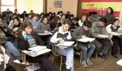 Un Clase del Colegio en Buenos Aires