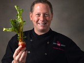 Celebrity Top Chef Franklin Becker - OM Award Recipient