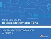 2015-2016 Algebra II TEKS in Action