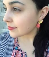 Terrace Blooms Post Drop Earrings now $24