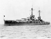 The USS Oaklahoma