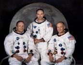 Buzz Aldrin y Michael Collins