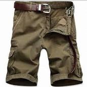 mientras pantalones cortos
