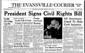 President Signs Civil Rights Bill