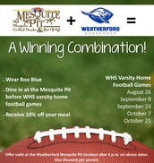 Mesquite Pit Offer