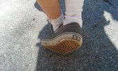 Muddy Sneakers!